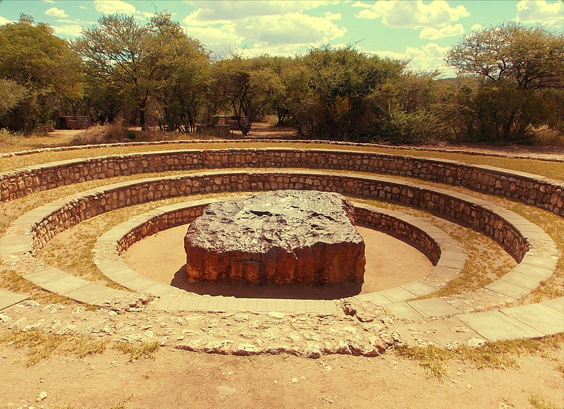 Météorite d'Hoba, Image- Wikipedia