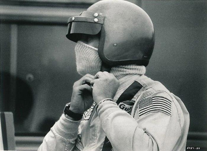 Inconnu - Steve McQueen - 'Le Mans' - 1971