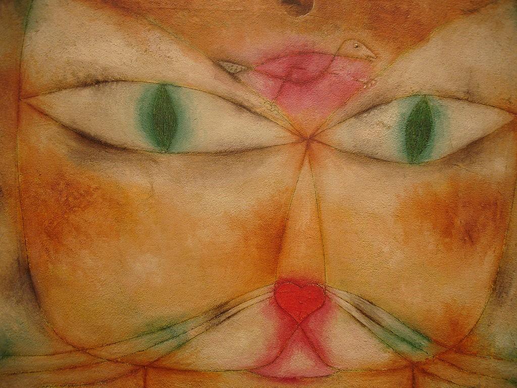Paul Klee - Katze und Vogel, 1928
