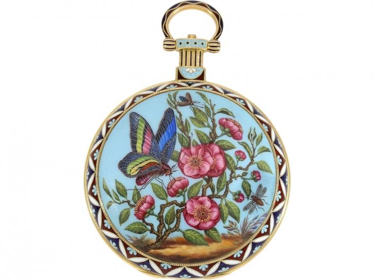 "Orologio da taschino ""The Butterfly"", Londra, ca. 1830. Foto: Cortrie"