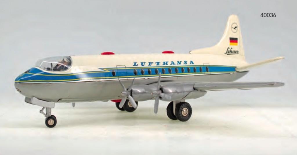 SCHUCO - Electro Radiant 5600 Passagierflugzeug der Lufthansa, 1950/60er Jahre