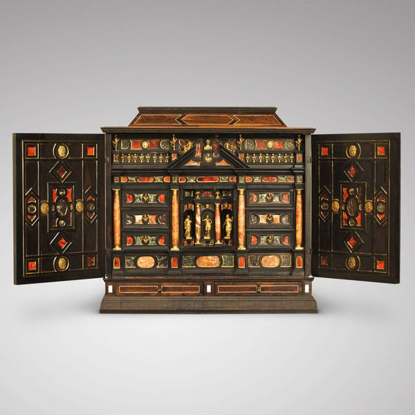 17th-century Italian Cabinet Inlaid with Hard Stone and Ormolu Mounts. Photo: Hansford, courtesy of Winter Art & Antiques Fair