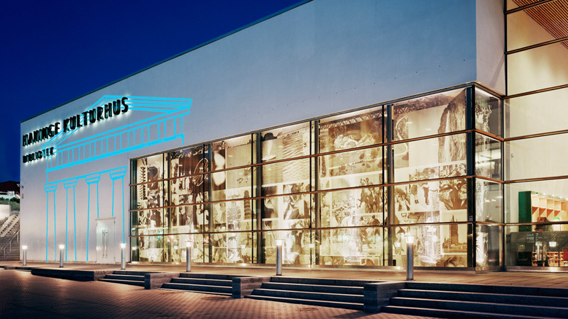 Även Haninge Kulturhus är med, med särskilt program under Stockholm Art Week