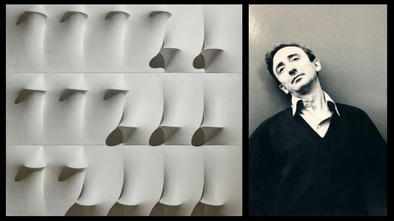 A sinistra: © ALTO//PIANO Agostino Osio A destra: Agostino Bonalumi, 1968. Foto di Gottfried Junker