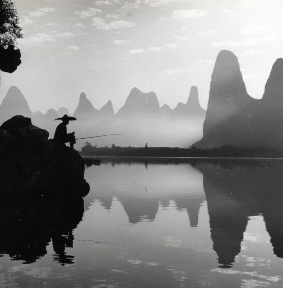 "Guangxi, ca. 1970. 5 x 6"" gelatin silver print. Xinhua News Agency Archive. Courtesy of AsiaWeekNY 2016 dealer Laurence Miller Gallery"