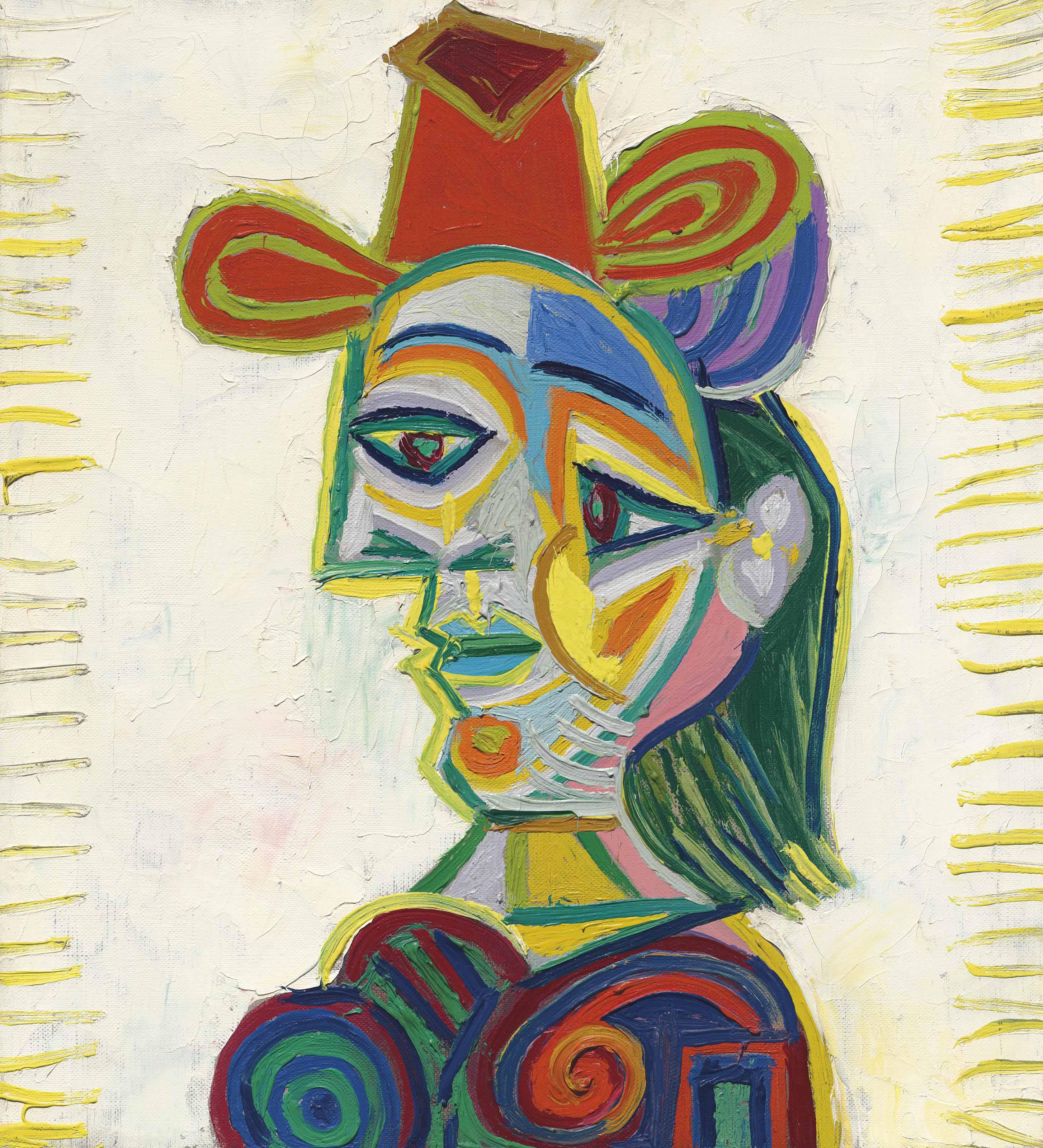 Ett annat porträtt av Picassos musa Dora Maar från 1938 såldes hos Christie's år 2016 för 22 miljoner dollar. Foto: Christie's