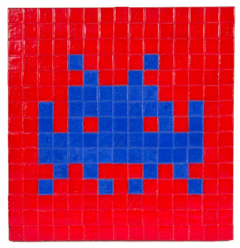 Invader, One Space, 2005