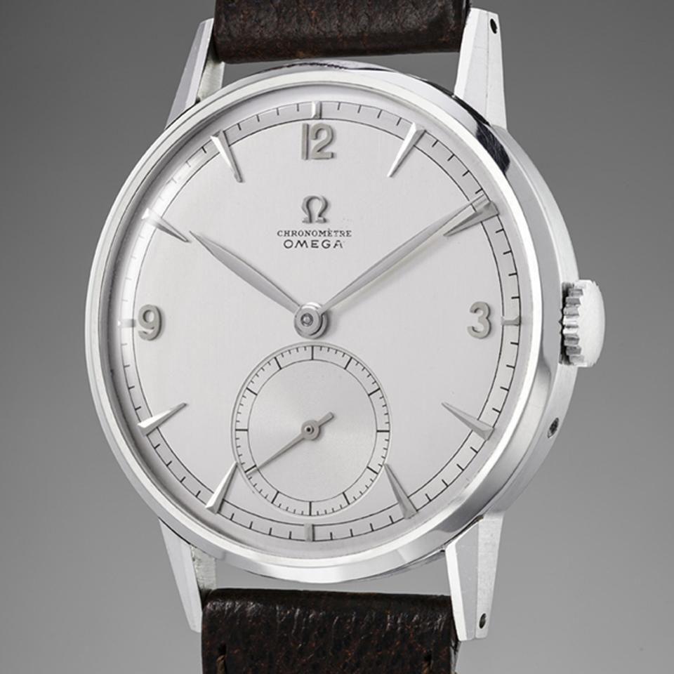 Mit 1,4 Millionen USD ist diese Tourbillon die teuerste Uhr von Omega auf dem Auktionsmarkt   Foto: Forbes