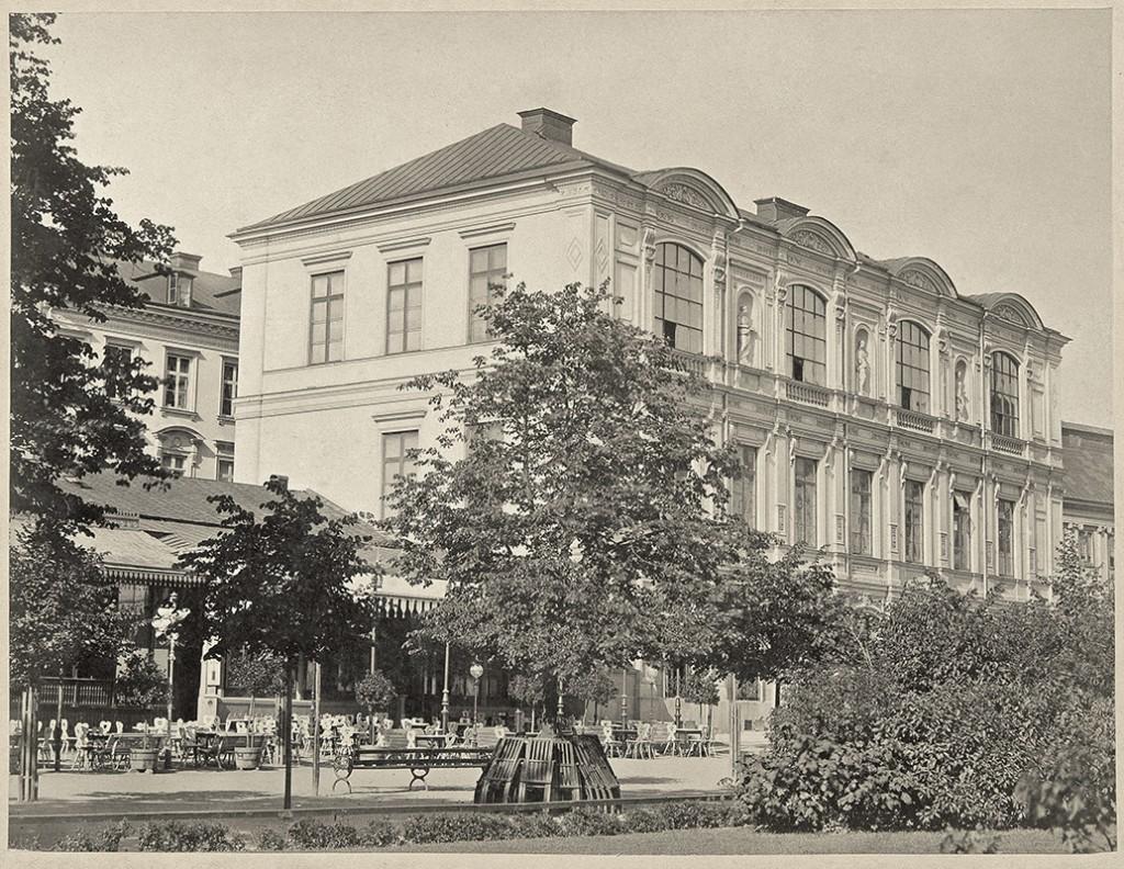 In diesem Haus befanden sich die Ateliers der Akademie, sowie Blanchs Café und Blanchs Salon © The Hilma af Klint Foundation, Foto: Moderna Museet, Stockholm