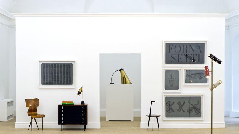 La maison de ventes Piasa expose ses pièces design dans son espace de 700 m² rue du Bac, à Paris © PIASA