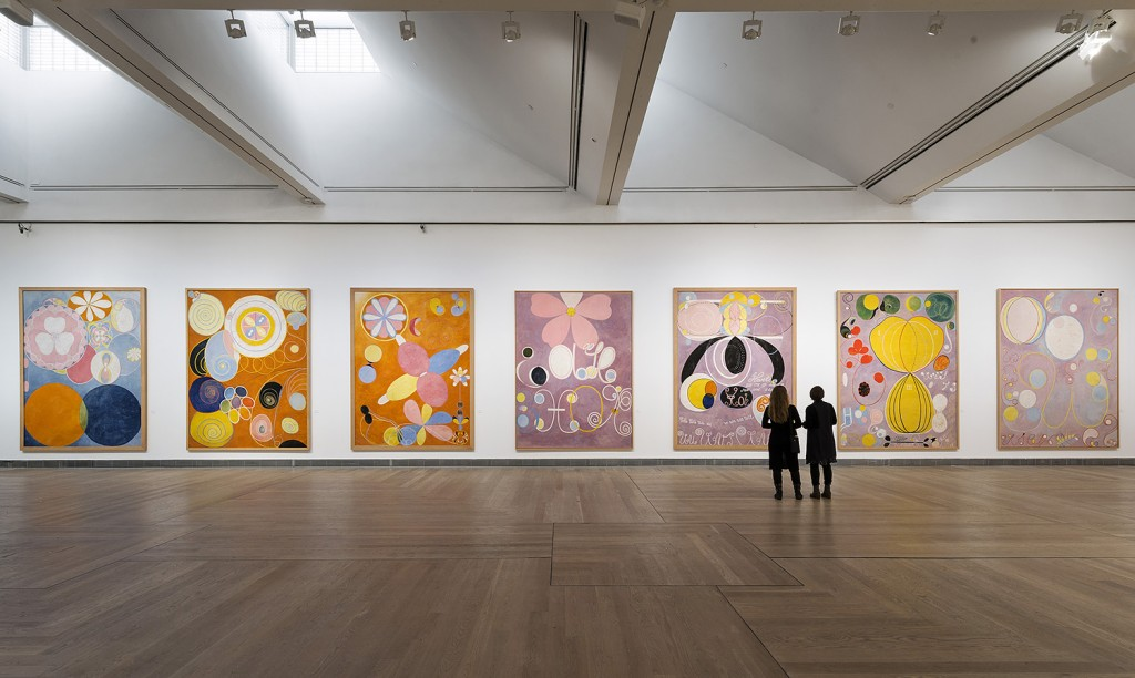 Hilma af Klint exhibit at Moderna Museet, Stockholm