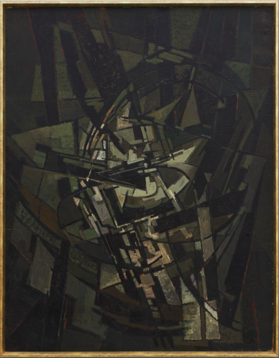 Pierre Dimitrienko, huile sur toile, 1953, image ©Native