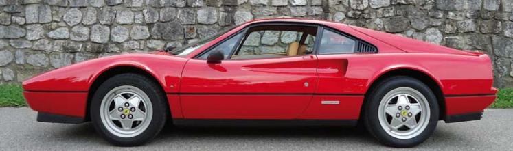 Ferrari 328 GTB 1987 Image via Monte Carlo Sun Auctions