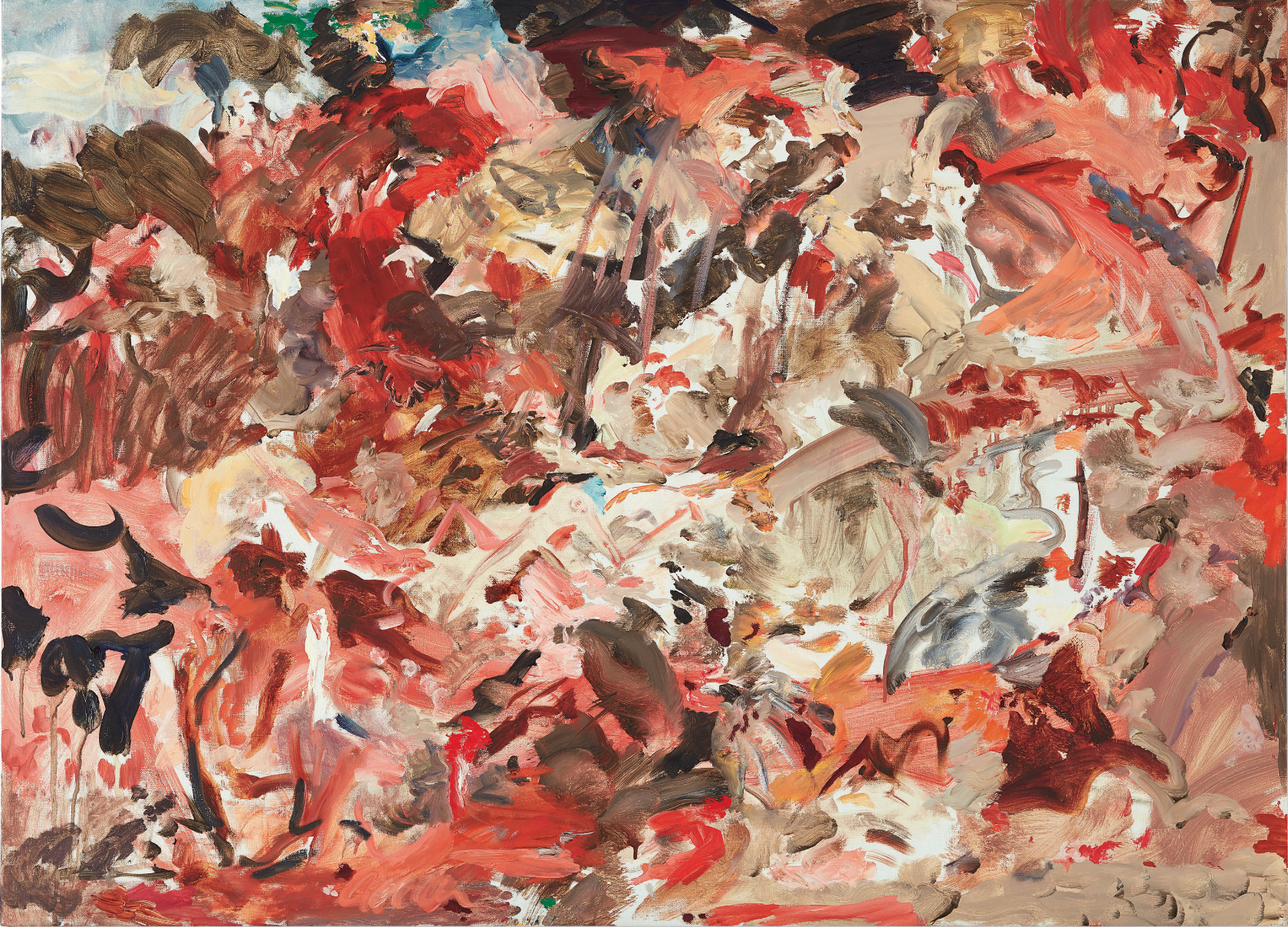 Cecily Brown, Untitled, 2008. Photo: Christie's
