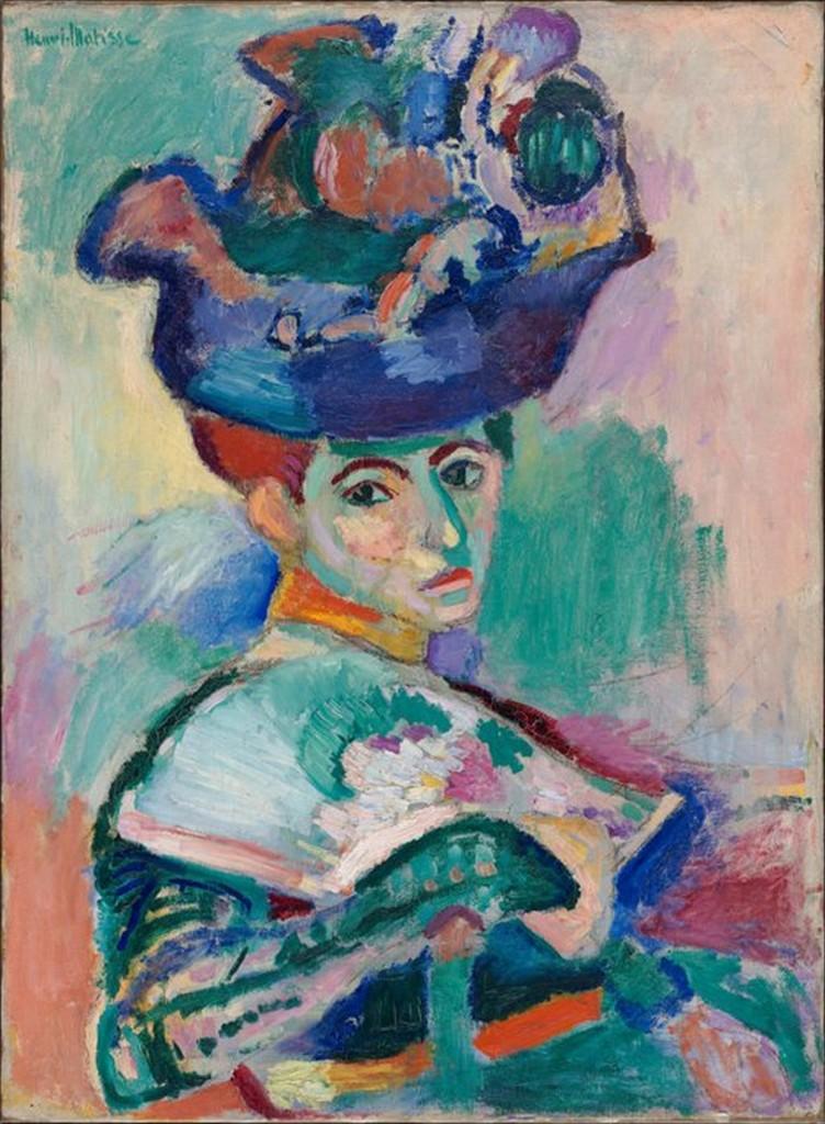 Femme au chapeau. Foto: Wikimedia.