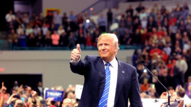 Donald Trump lors de sa campagne pour l'élection présidentielle Image courtesy of The Motley Fool
