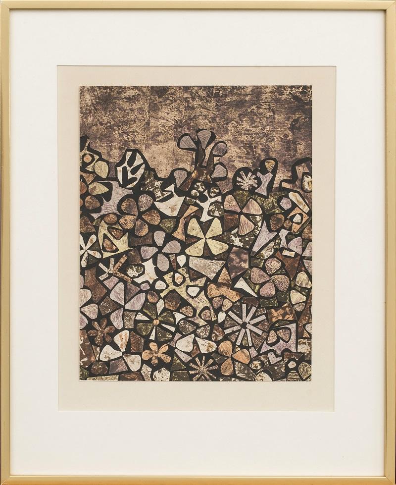 "JEAN DUBUFFET. ""Jardin de quitte vite"" (1957)"