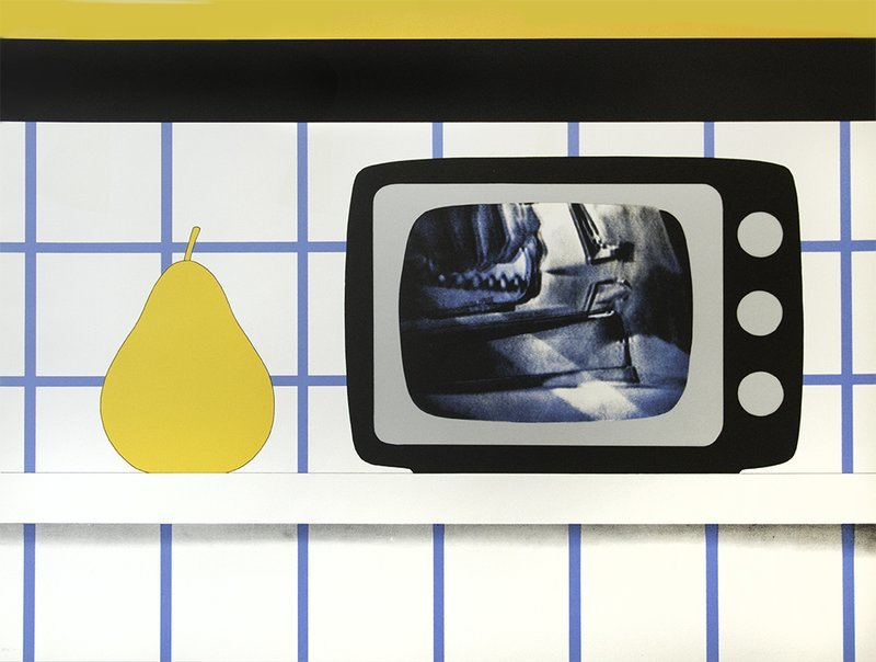 TOM WESSELMANN, TV Still Life. 1965
