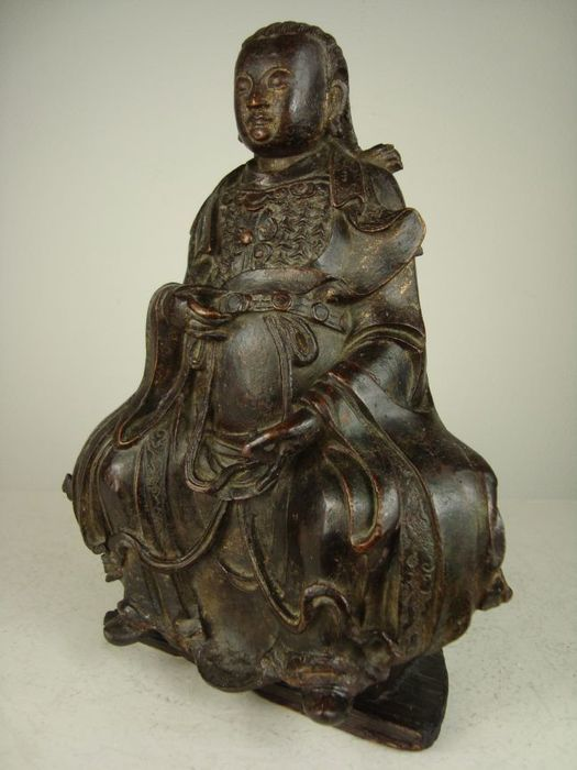 Bronze figure of Zhenwu - China - 17th century