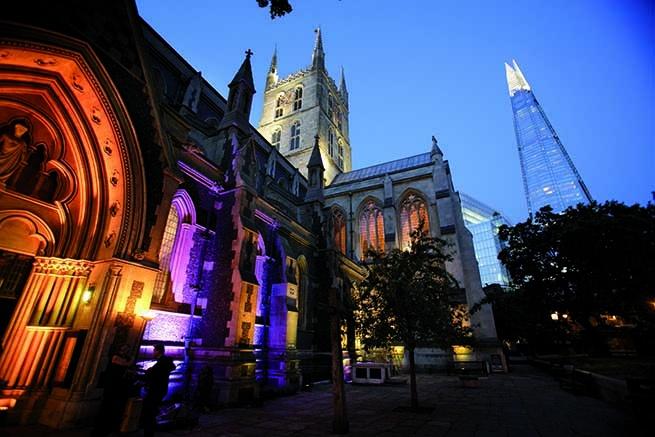 南華克大教堂(Southwark Cathedral)圖片取自:ICA