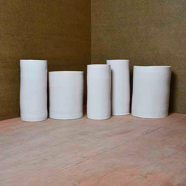 Five Cylinders, vers 2001 Edmund de Waal Estimation: 11 100 €