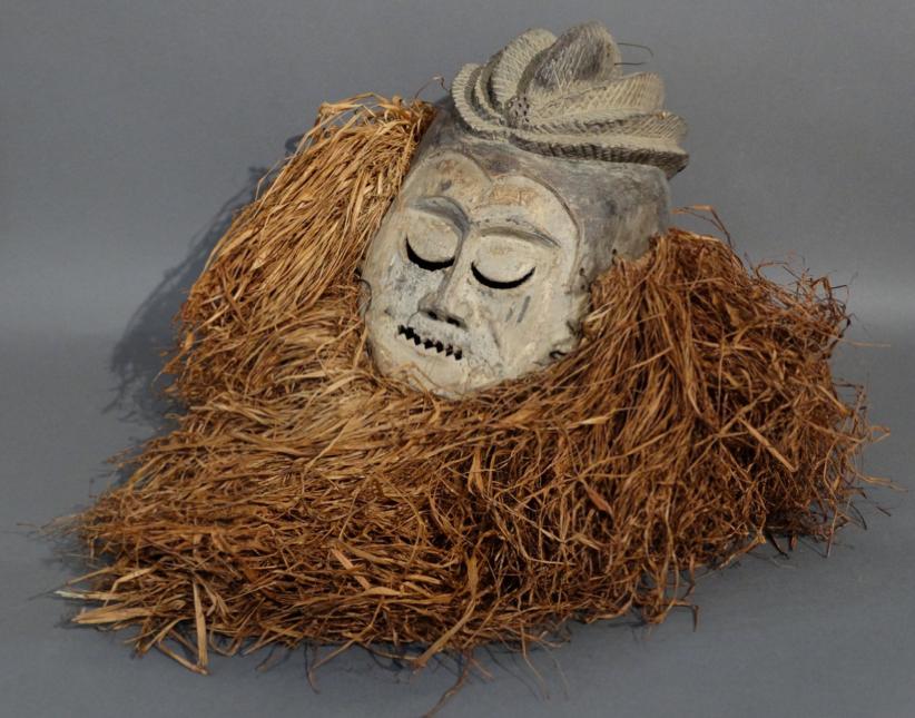 Masque Suku En vente à l'Hôtel des Ventes Legros