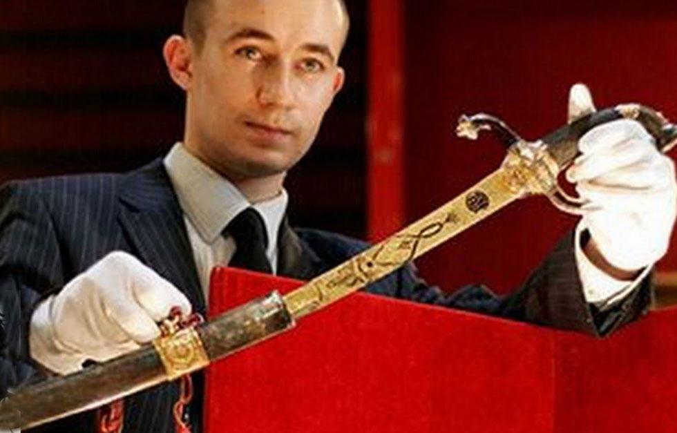 Napoleon's-Gold-Encrusted-Sword