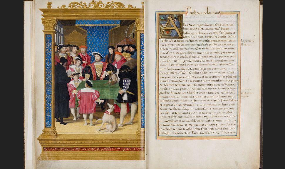 Diodorus Sicilian, 1534 Bibliothèque de Chantilly  Courtesie du Château de Chantilly