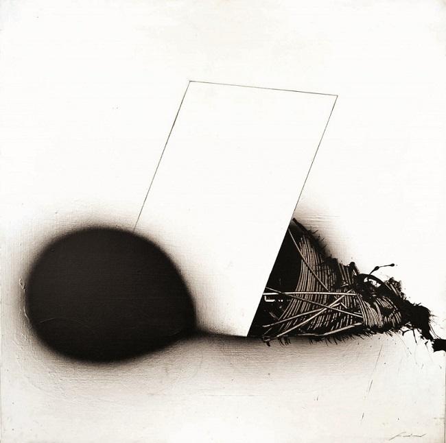 EMILIO SCANAVINO. Diviso in due (1969). Precio estimado: 18.000-22.000 €. Precio de salida: 12.000 €