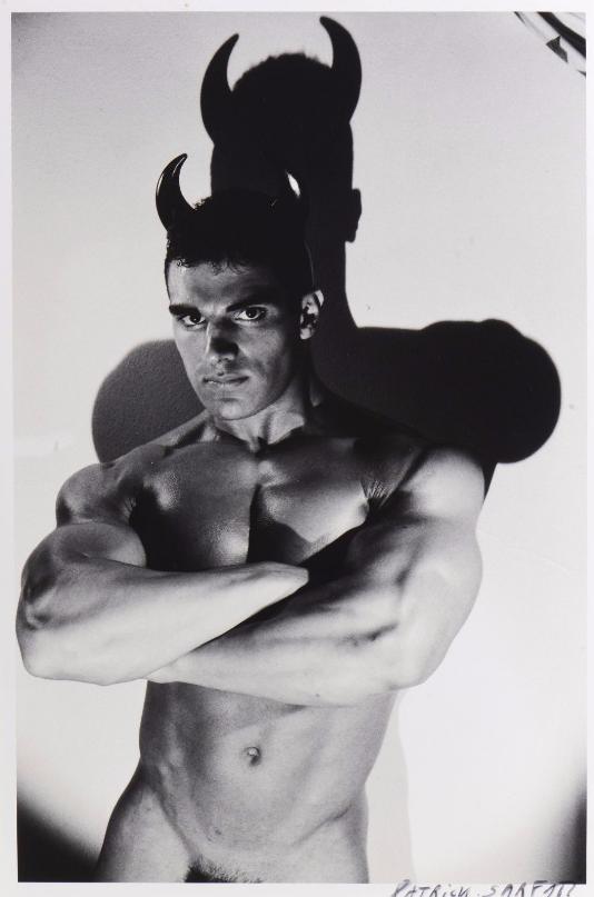 Patrick SARFATI (1958) Jerry en diable Tirage argentique. 1/8, signé et daté 2002