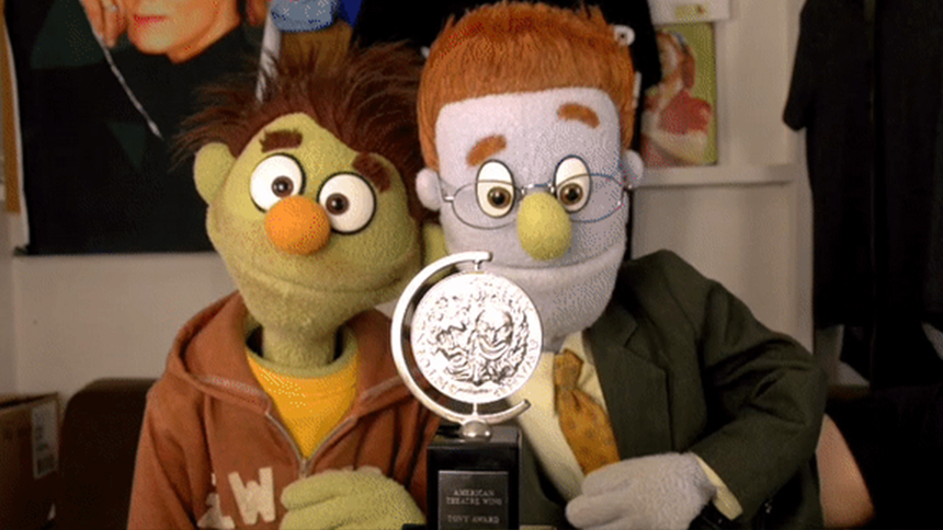 Avenue-Q--Tony-Award--Rod--Nicky--Puppets--GIF--