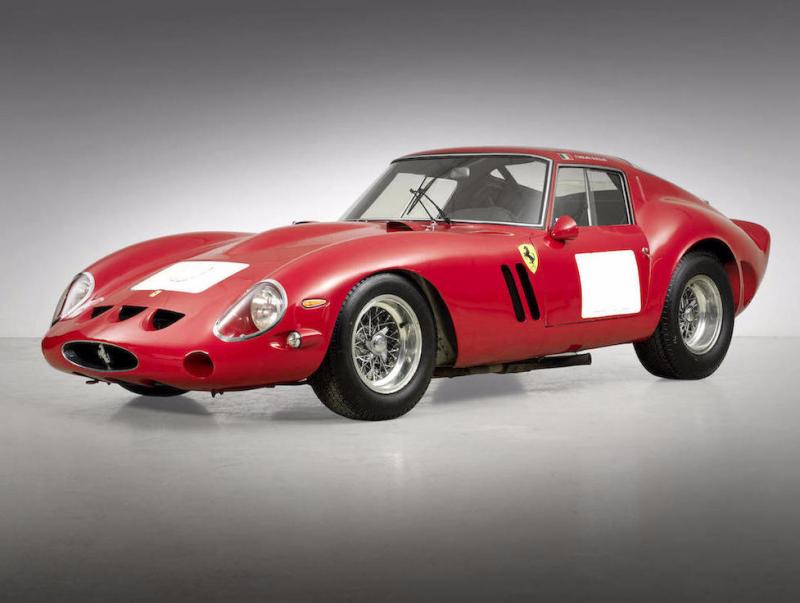 Ferrari 250 GTO, 1962. Image courtesy of Bonhams