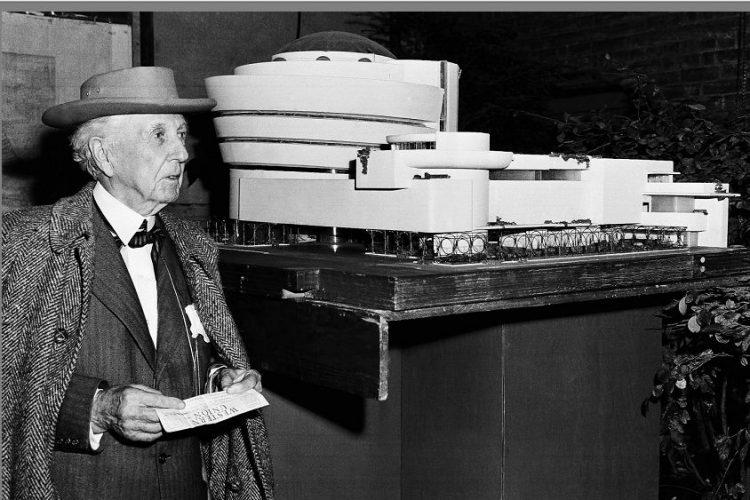 建築師 Frank Lloyd Wright(弗蘭克·勞埃德·萊特,1867年6月8日-1959年4月9日)