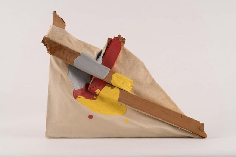 "ANDY WARHOL. Titulado: Abstraction - A Gift to Jon Gould. Firmado: ""Jon / Andy Warhol '83"""