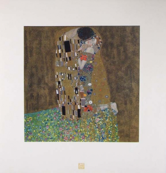 Gustav Klimt, The Kiss, 1908-1914