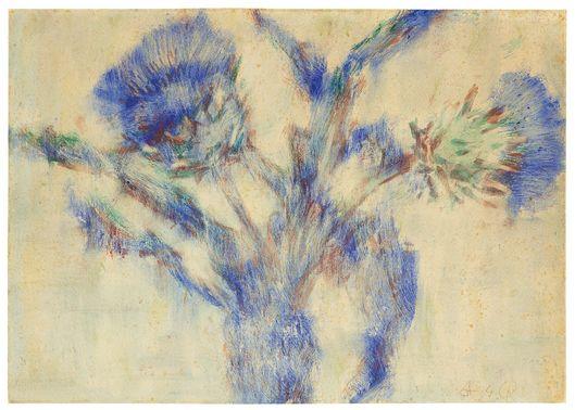 Christian Rohlfs, Artichoke petals, 1934