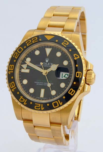 ROLEX OYSTER PERPETUAL DATE. GMT MASTER II