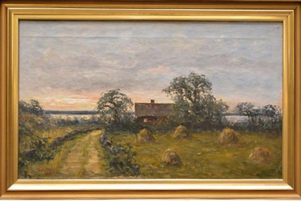 Severin Nilson, oljemålning.