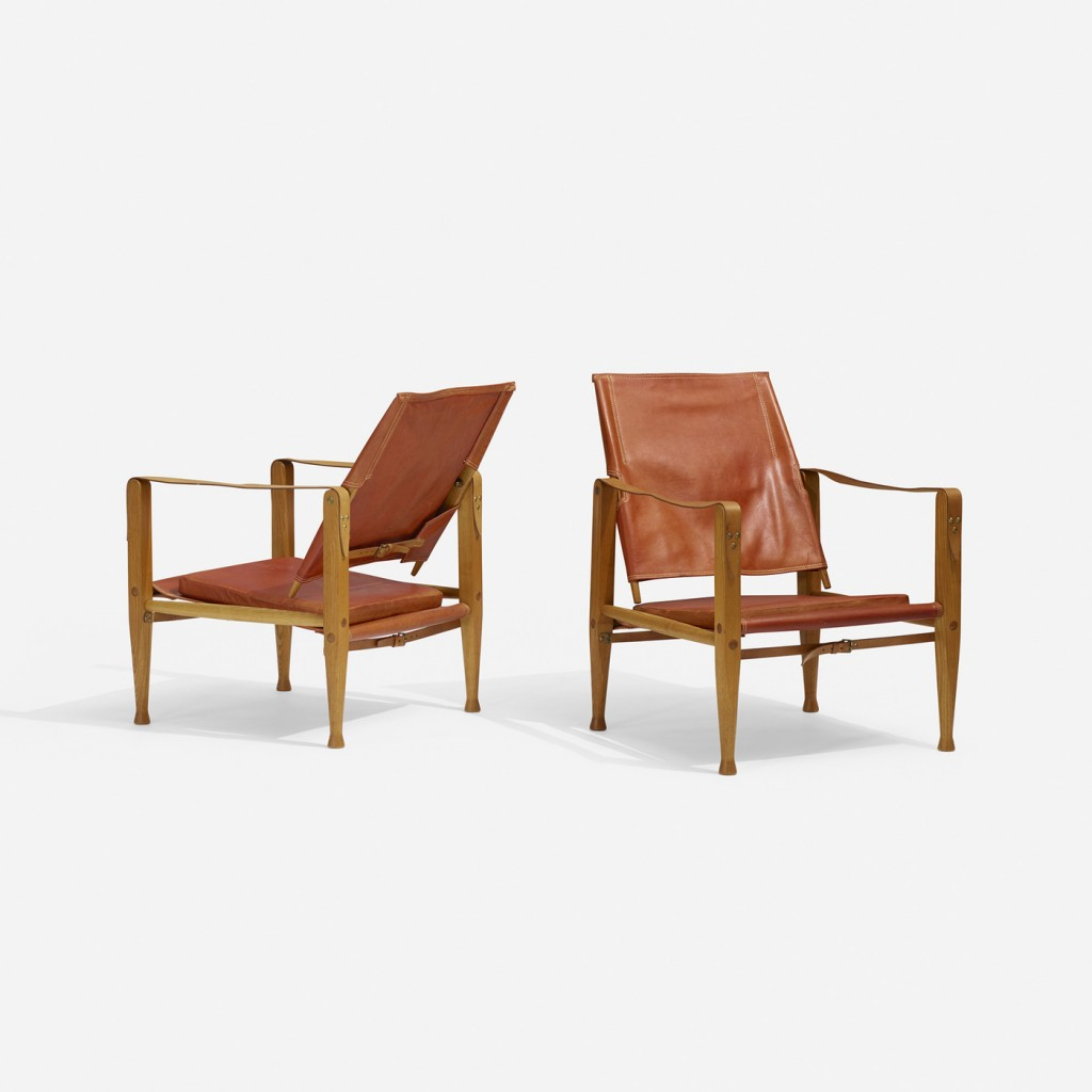 Kaare Klint Safari chairs, pairWright Now