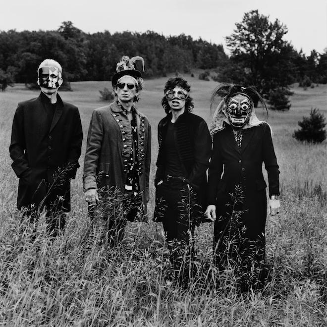 The Rolling Stones, Toronto 1994 Copyright Anton Corbijn