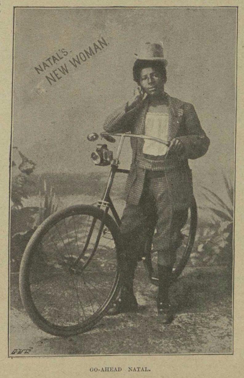 Unknown Artist, 'Natal's New Woman', 1896. Photo: Warwick University