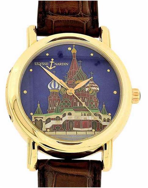 ULYSSE NARDIN - San Marco Kremlin, Kremlin-Ei, Chronometer-Zertifikat, Zentrumsekunde, Rotgold, La Chaux-de-Fonds ca. 2006 Schätzpreis: 35.000-50.000 CHF