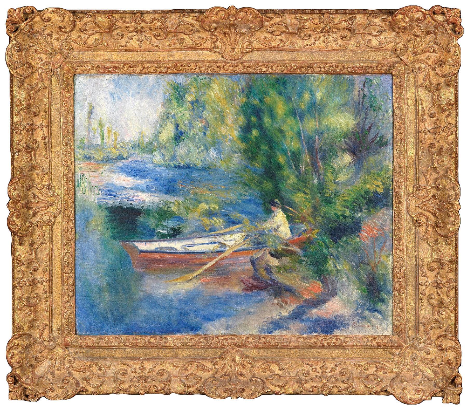 Pierre-Auguste Renoir Au Bord de l'Eau, 1885 Image via DICKINSON