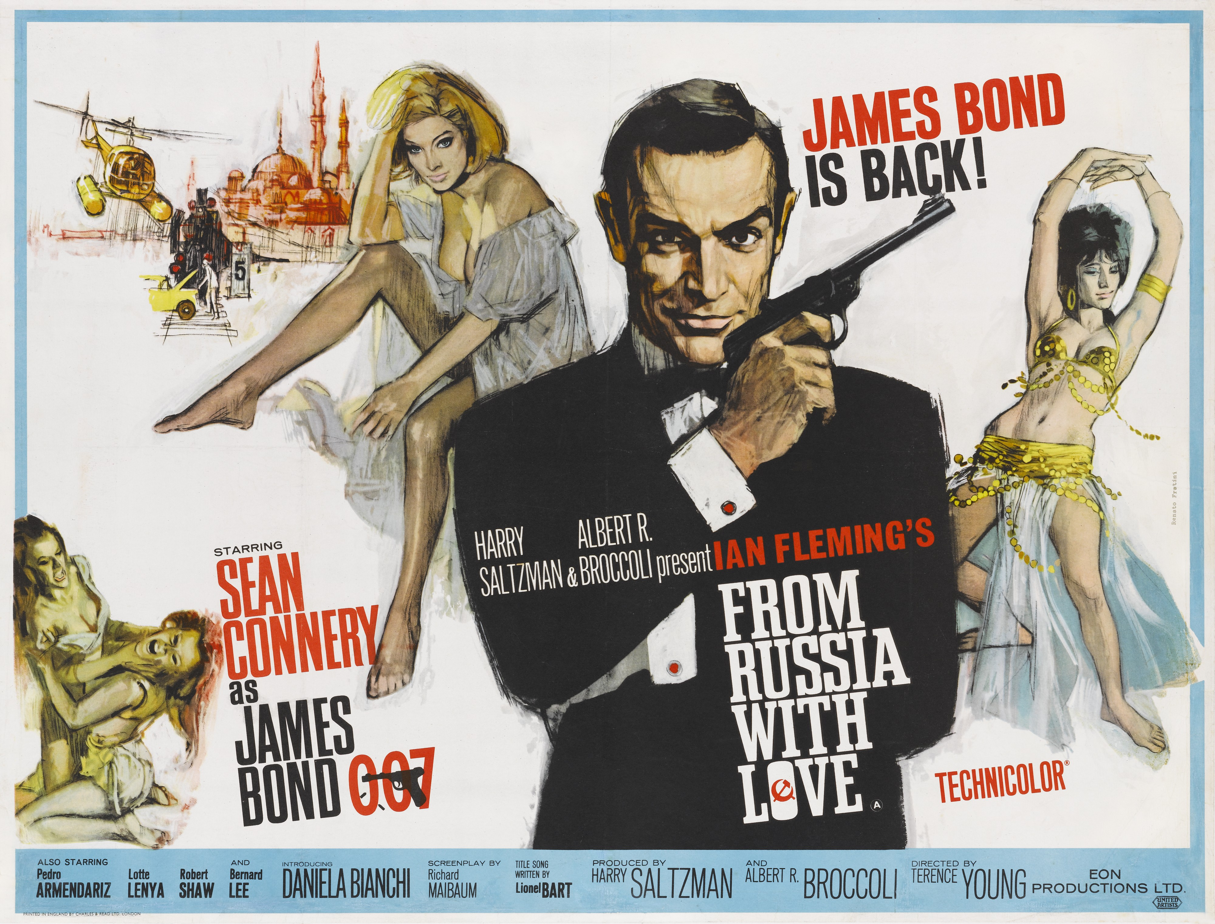FROM RUSSIA WITH LOVE QUAD