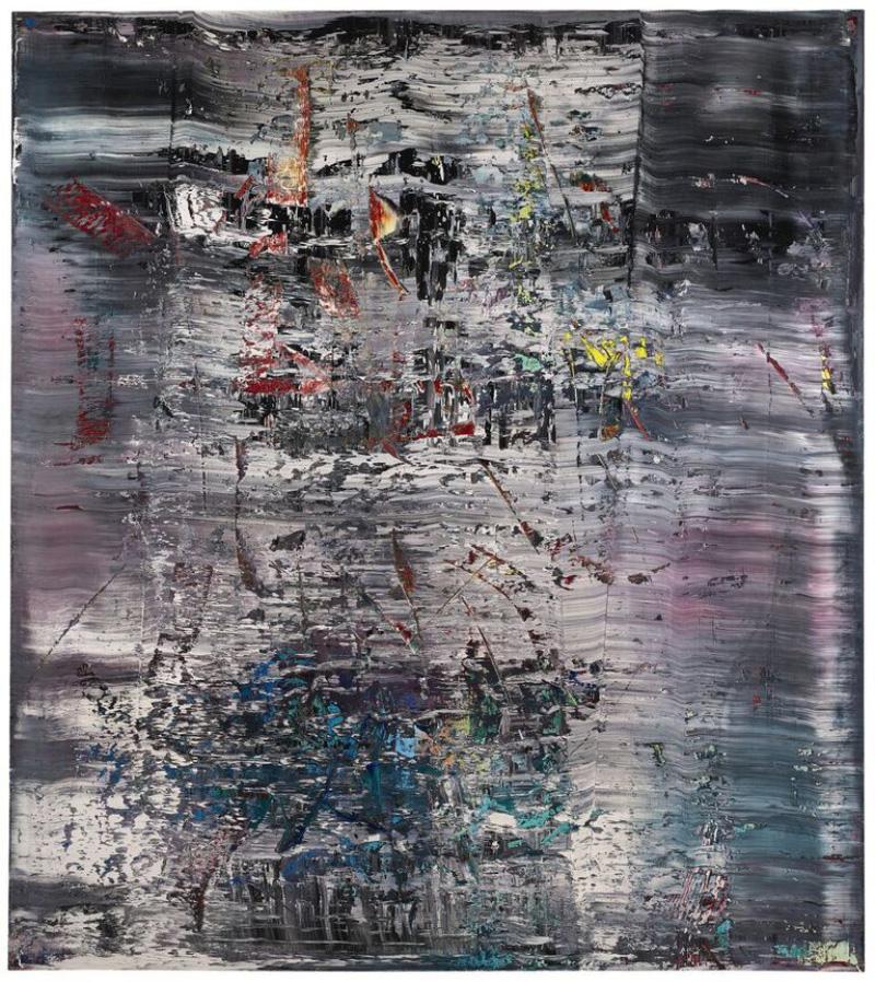 Gerhard Richter, Abstraktes Bild (725-4) (1990) Foto: Sotheby London