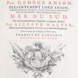 Voyage Autour du Monde, George Anson. 1740-44
