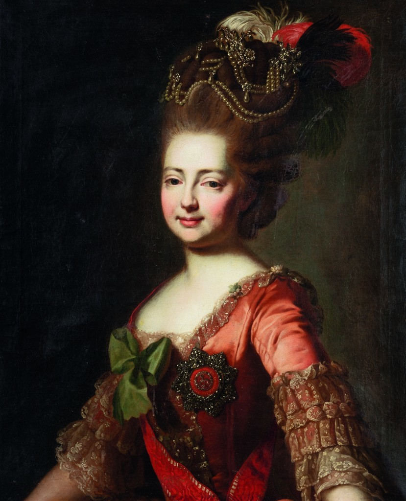 Alexandre Roslin, 'Portrait of Empress Maria Feodorovna', c. 1777. Photo: Leclere