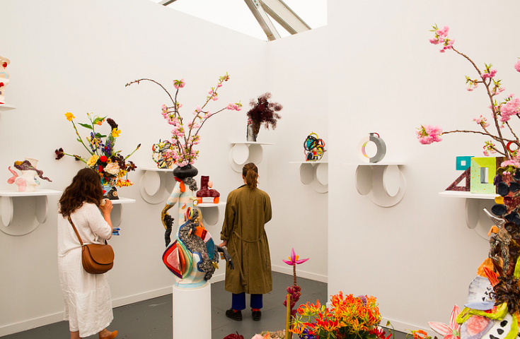 Focus, Travesia Cuatro, Frieze New York 2015 Photograph by Marco Scozzaro. Courtesy of Marco Scozzaro/Frieze.
