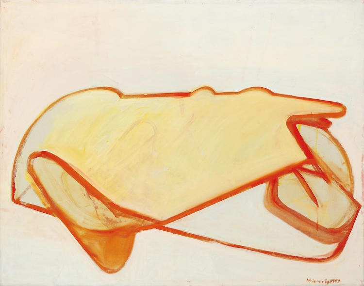 Maria Lassnig Mínimo estimado: 130 000 EUR Dorotheum