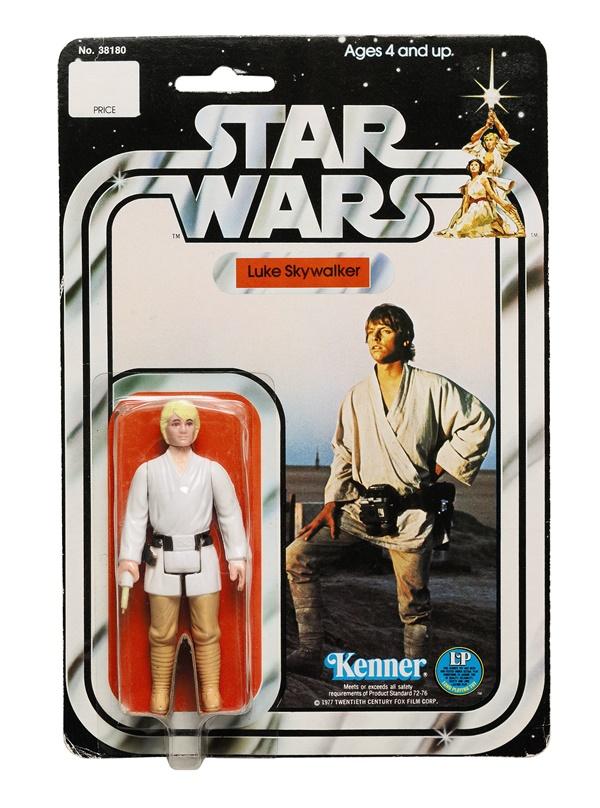 Luke Skywalker, 1978. Foto: Sotheby's.